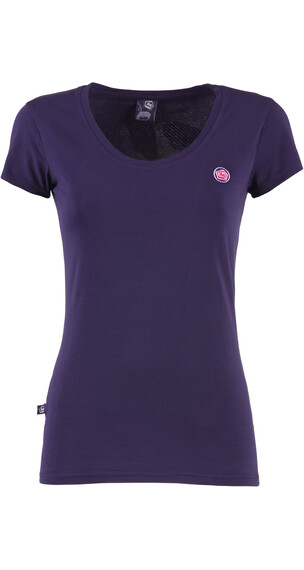 E9 W's Solid Tee PURPLE